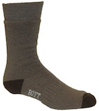 SX250 Brown Mid-Weight Boot Socks