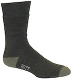 SX250 Green Mid-Weight Boot Socks