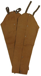 Boyt WC14 Waxed Cotton pland Cotton Chaps